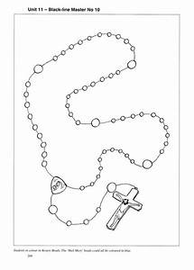 Rosaries  Line Diagram And Coloring On Pinterest