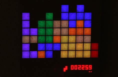 tetris led matrix raspberry pi ws youtube