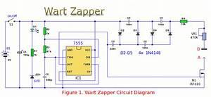 Wart Zapper - Control Circuit - Circuit Diagram