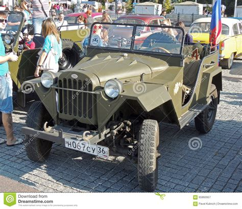 russian military jeep soviet jeep gaz 67 editorial photography image of russia