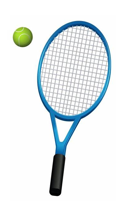 Tennis Racket Clipart Ball Clip Racquet Vector