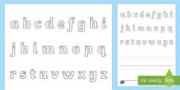 line guide with letters letter formation mat eylf