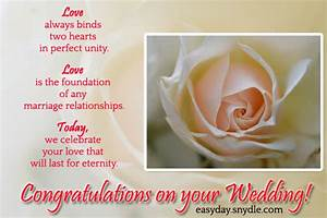 12 Wonderful We... Wedding Felicitations Quotes