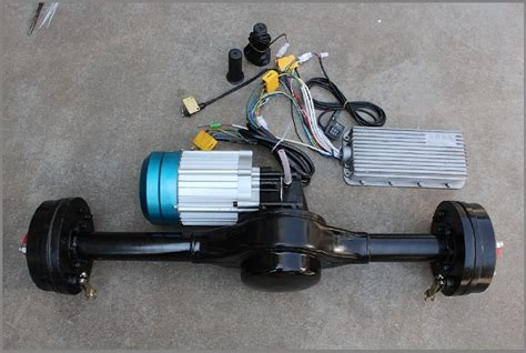 Electric Trike Cargo Kit With Differential Gear Bridge