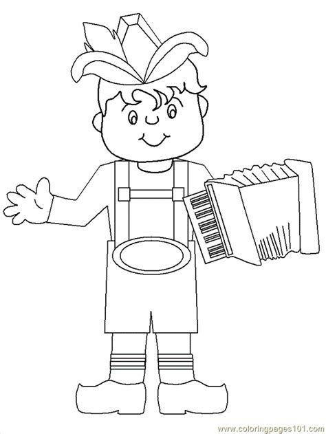 lederhosen coloring page  germany coloring pages coloringpagescom