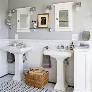 Kohler Memoirs Pedestal Sink by The Perfect Guest Bathroom Ideas