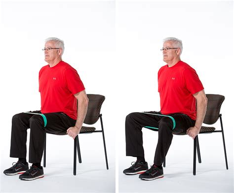 5 chair exercises for adults