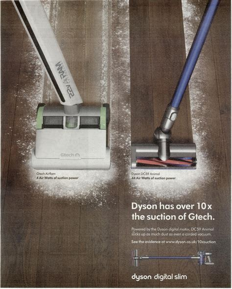 Dyson advert banned by regulator after aggressive campaign ...