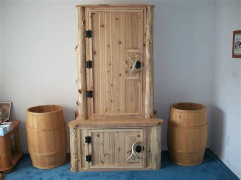 woodwork simple gun cabinet plans   plans