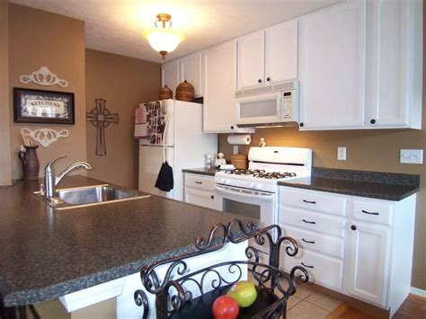 painted white oak cabinets yes you can paint your oak kitchen cabinets home