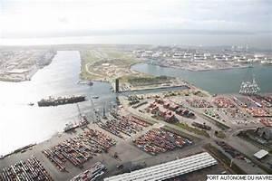 Port du Havre : vue aérienne de l écluse François Ier LE