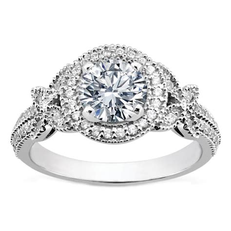 vintage engagement rings for butterfly engagement rings from mdc diamonds nyc