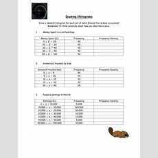 Histograms Lessons By Owen134866  Uk Teaching Resources Tes