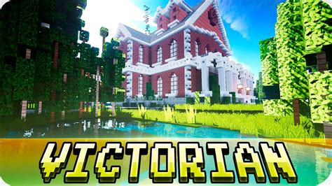 minecraft realistic victorian mansion house map   cinematic youtube