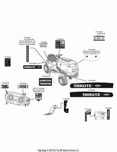 Mtd 13al795t057  2010  Parts Diagram For Label Map Brute
