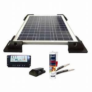 Régulateur Pour Panneau Solaire : kit solaire 150w pour camping car 12v panneau solaire r gulateur fixations kit cc 150w ~ Medecine-chirurgie-esthetiques.com Avis de Voitures