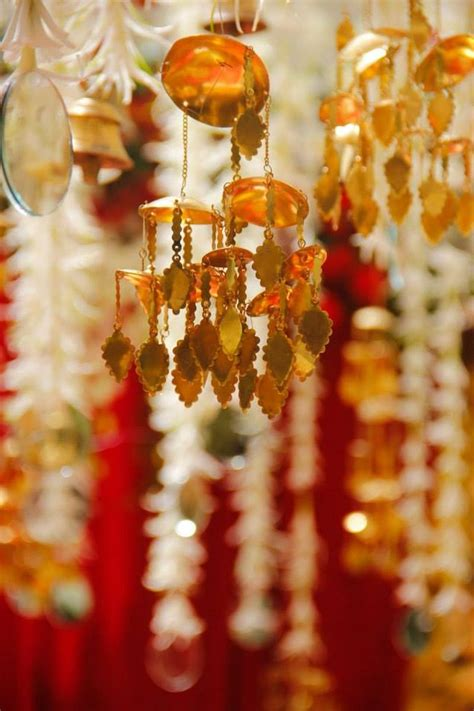 love    kalire  hangings   mandap decor