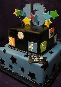 Lighting Mcqueen Birthday Party Ideas Birthday Cake For 13th Year Old Boy Found On
