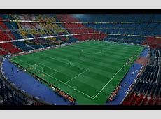 Camp Nou Versión 2016 In GDB For PES 2013 PES Patch