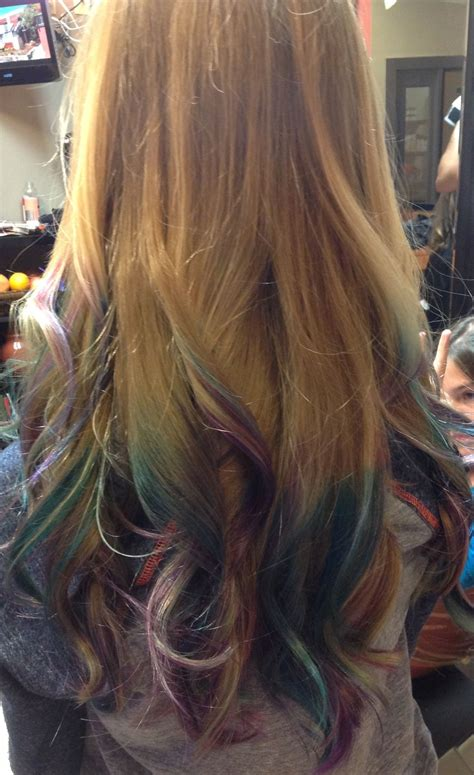 Dip Dyed Hair Dip Dye Hair Hair Styles Hair