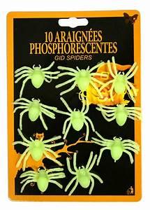 Decoration Halloween Pas Cher : d coration araign es phosphorescentes pas cher ~ Melissatoandfro.com Idées de Décoration