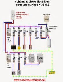 Cablage Tableau Electrique Triphasé by Schema Electrique Branchement Cablage