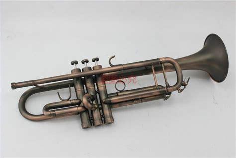 trumpet brass bb unbranded professional antique tromba case ottone mouthpiece instrument musical copper surface marchio professionale senza dhgate strumento musicale