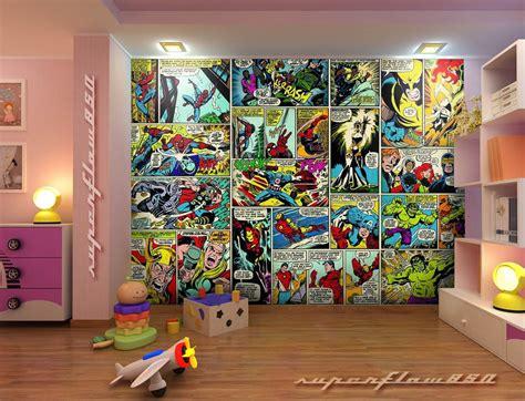 Marvel Wallpaper For Boy Room
