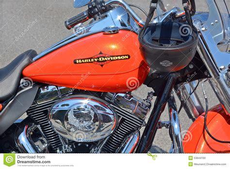 Close Up Harley Davidson Editorial Image