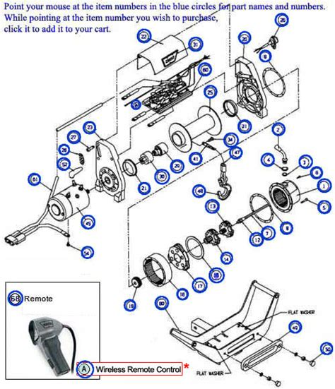 Warn 1000 Ac Winch Motor Wiring Diagram by Warn Winch Parts Diagram Car Interior Design