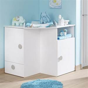 camille meubles meuble d39angle a langer pour enfant With meuble de rangement pour chambre bebe