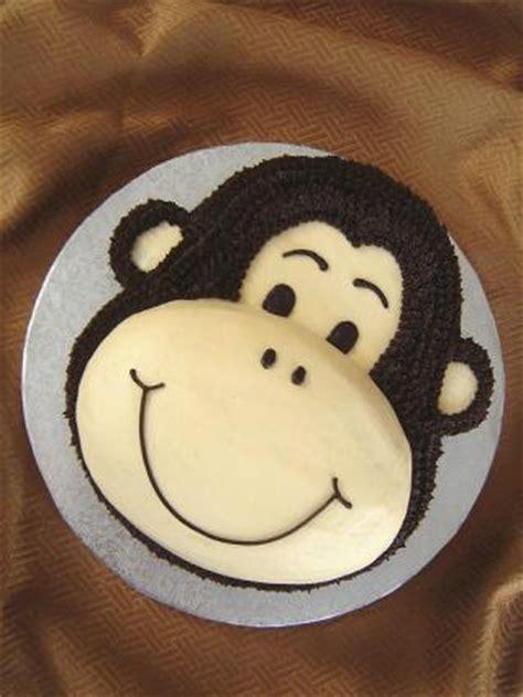 Monkey Birthday Cake Template by Monkey Birthday Cake Lovetoknow