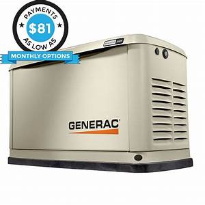 Generac Guardian 7038 20kw Aluminum Automatic Standby