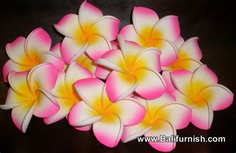 bali handicrafts hand crafted wood flowers  bali indonesia