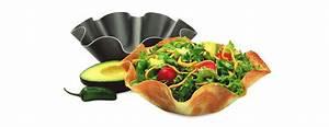 Chicago Metallic Tortilla / Taco Shell Baking Pans - The
