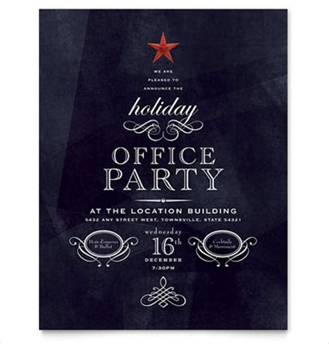free office christmas party flyer templates 24 word flyer templates free free premium templates