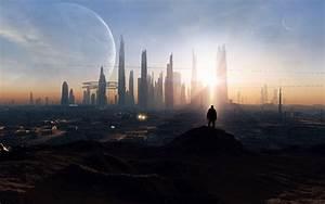 Future City Wallpaper 880596 - WallDevil