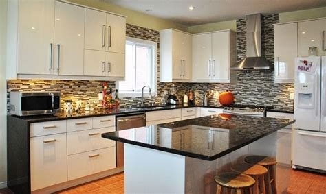 kitchen decorating ideas for countertops impressive kitchen decorating ideas with white cabinet and