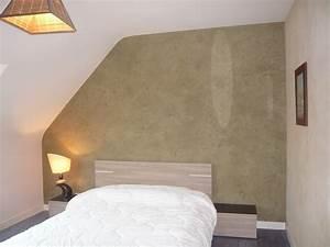 revgercom effet peinture murale chambre idee With amenagement exterieur maison neuve 18 peinture effet metal