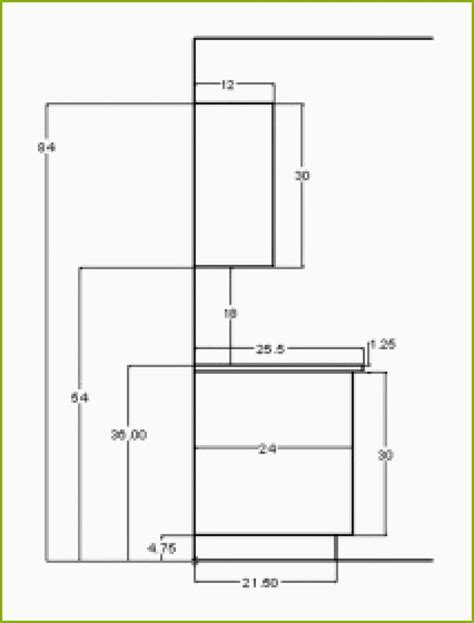 kitchen cabinet height from counter standard kitchen cabinet height standard dimensions for 7853