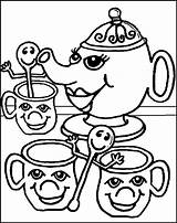 Coloring Tea Party Pages Colouring Oregon Sheets Ducks Printable Quinn Harley Print Child Popular Coloringhome sketch template