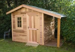 Cabanon En Bois : incroyable cabanon de jardin carrefour 4 carport bois ~ Premium-room.com Idées de Décoration