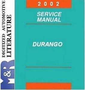 2002 Dodge Durango Original Service Manual