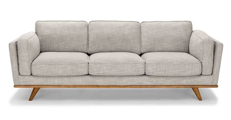 Sofa And by Timber Cloud Gray Sofa Article