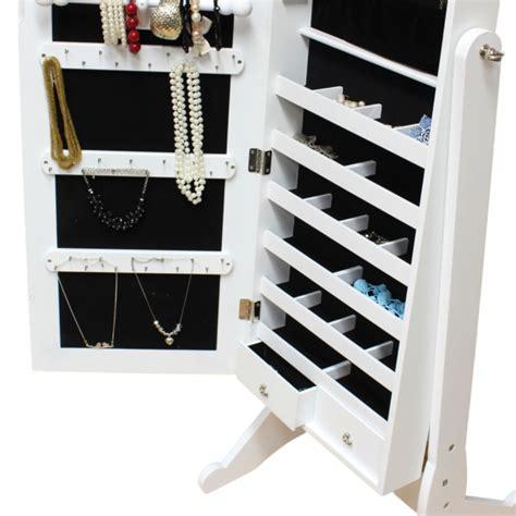 floor mirror support large floor standing bedroom mirror jewellery box cabinet organiser full length ebay