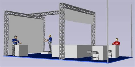 exhibition stand dwg block  autocad designs cad