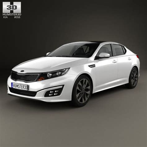 kia optima   model cgtrader