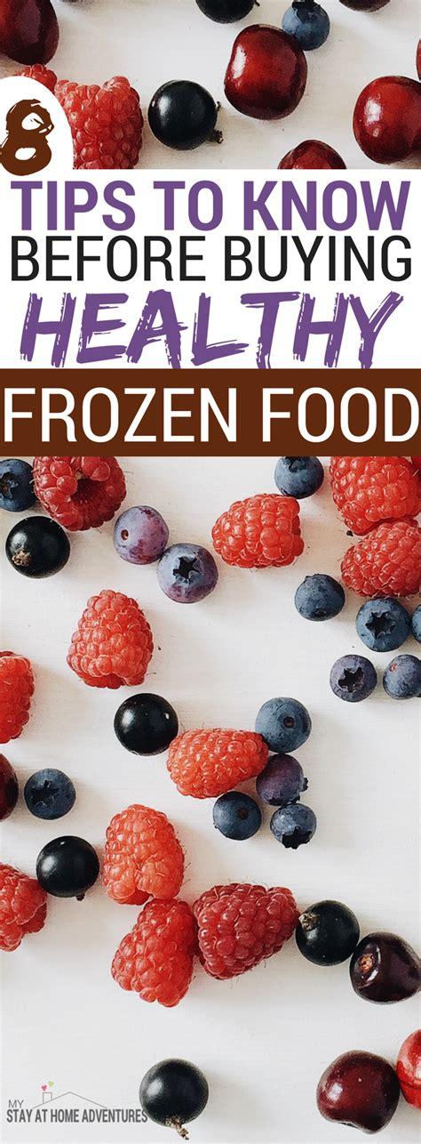 tips  buying healthy frozen food