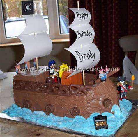decoration gateau bateau pirate coolest pirate ship birthday cake ideas