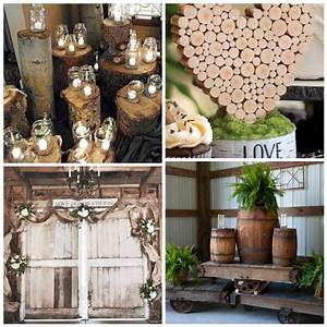 Rustic Wedding Decorations - Uniquely Yours Wedding Invitation